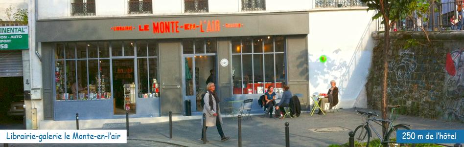 Librairie le Monte-en-l'Air